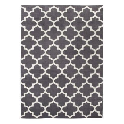fretwork quatrefoil area rug