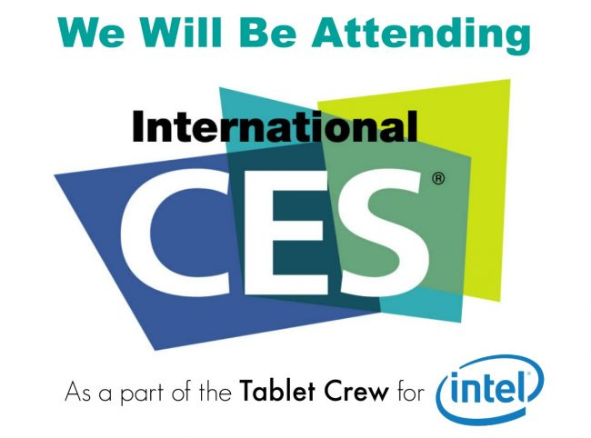 intel tablet crew for CES 2015