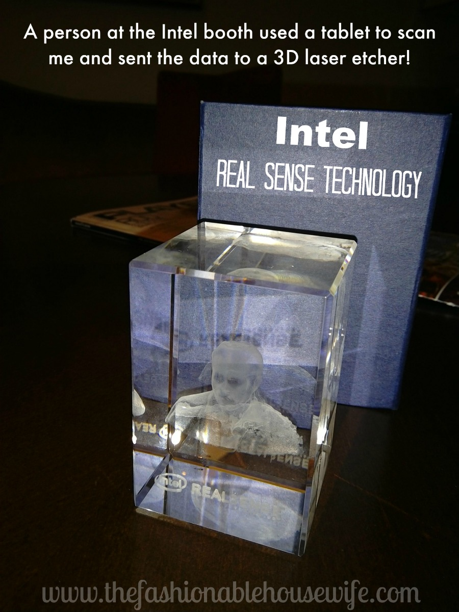 real sense technology 3d