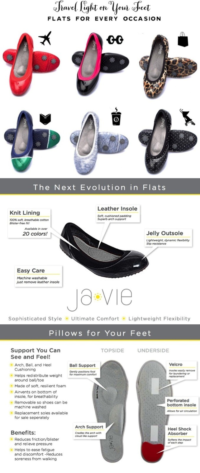 ja-vie the flats for every ocassion
