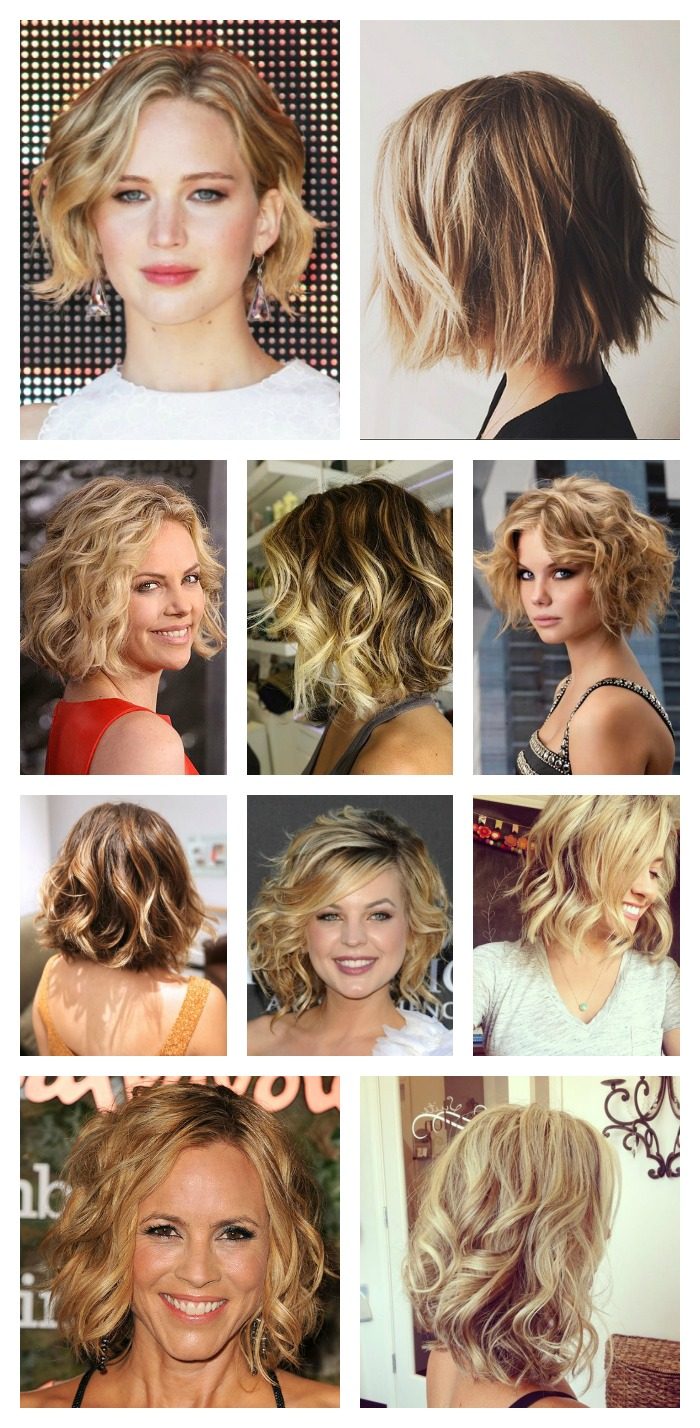 Hair Style Tutorial Easy Beachy Waves For Short Hair The Fashionable Housewife