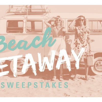 Win a $2,500 Visa Gift Card for A Dream Beach Getaway!