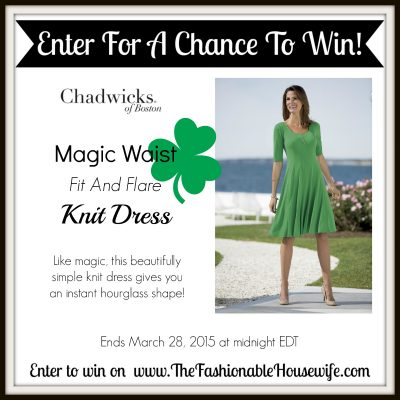 Enter To Win Chadwicks of Boston Fit & Flare Knit Dress!