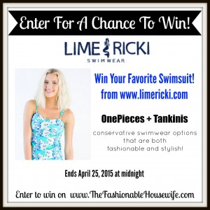 Enter To Win Lime Ricki Swimwear
