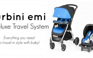 Urbini Emi Travel System 1