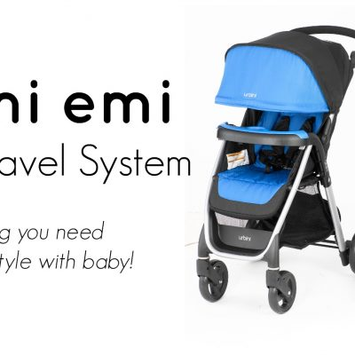 Travel Fashionably with The #Urbini Emi Travel System #IC #AD