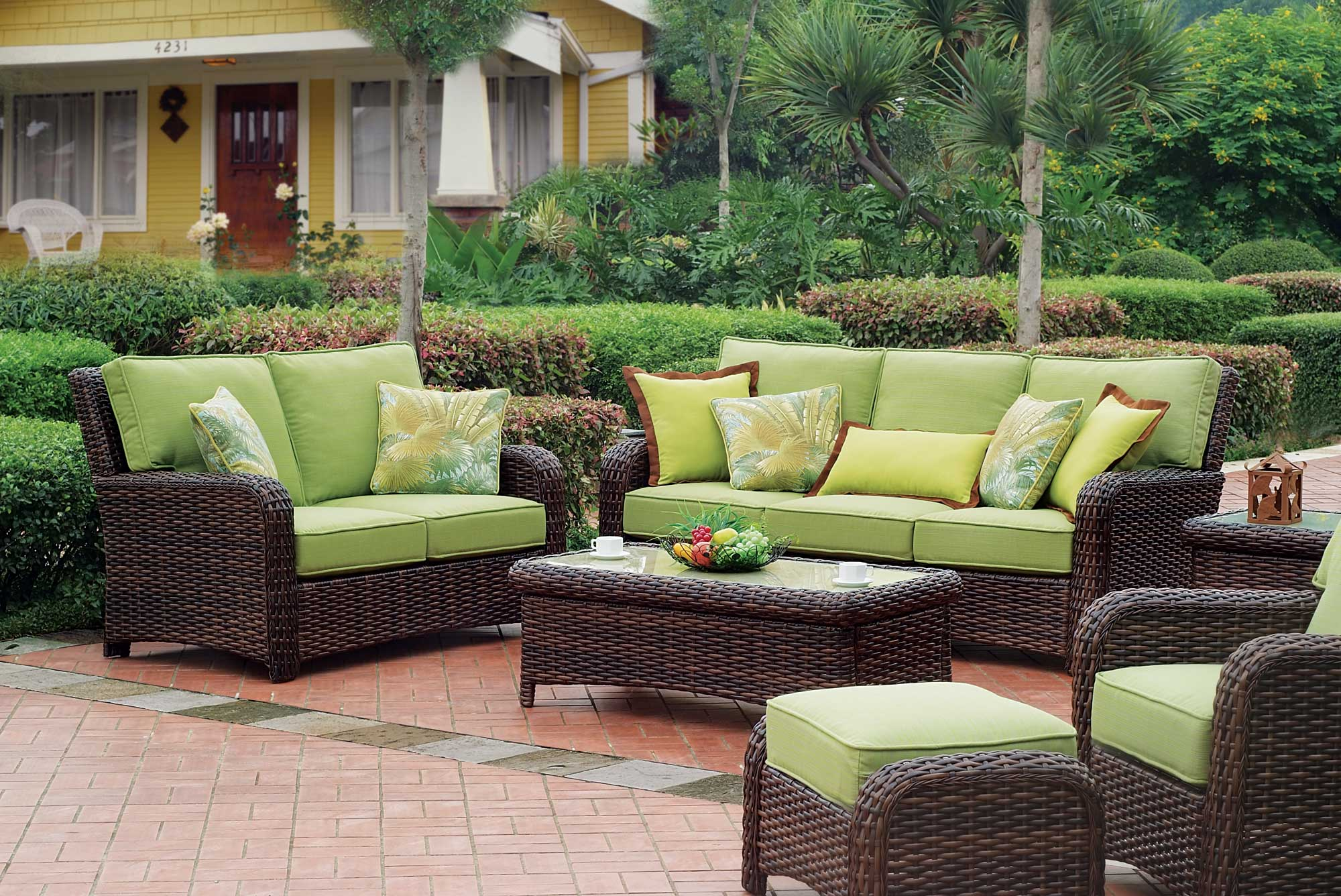 Garden Furniture Sets 3 rattan garden furniture classics for an evergreen look