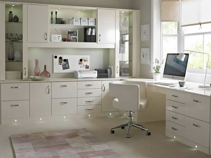 White Gloss Home Office Furniture Emotibikers Com