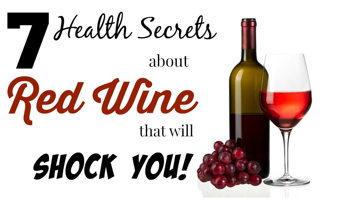 red wine health secrets