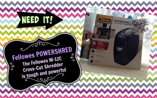 spring cleaning fellowes powershred m-12c