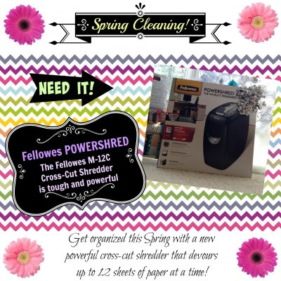 Tips For Spring Cleaning & The Perfect Housewarming Gift! #GiftFellowes #IC #AD