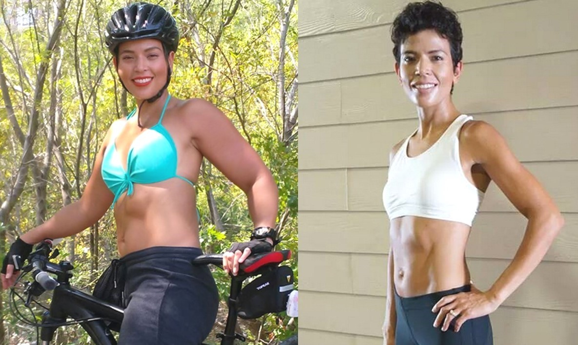 Teresa Tullos before and after