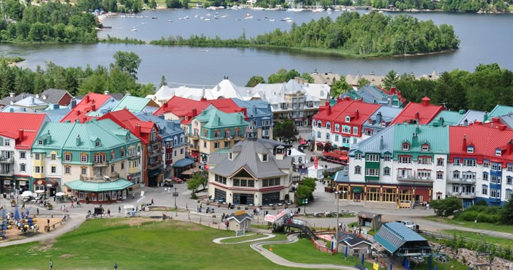Summer Family Activities: Seeing Mont Tremblant by Sky