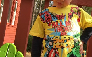 Play The Children's Place Avenger's Super Hero Prize Game!