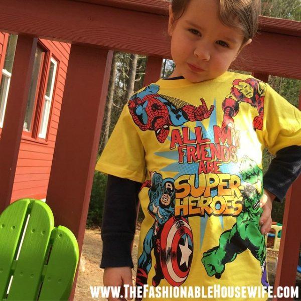 avengers shirt TCP