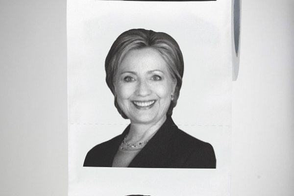 hilary toilet paper