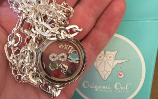 origami owl necklace custom