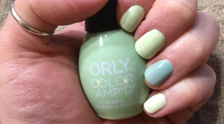 Orly Color AMP'D Nail Polish in Art Walks & La La Land