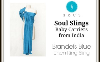 Soul Slings Baby Carrier Ring Sling Giveaway