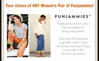 Enter To Win Women's PUNJAMMIES Cotton Pants
