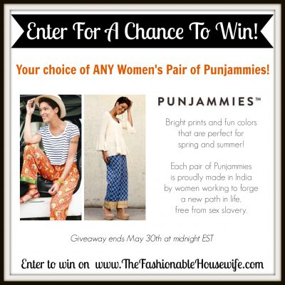 Enter To Win A Pair of Sudara PUNJAMMIES Pants!
