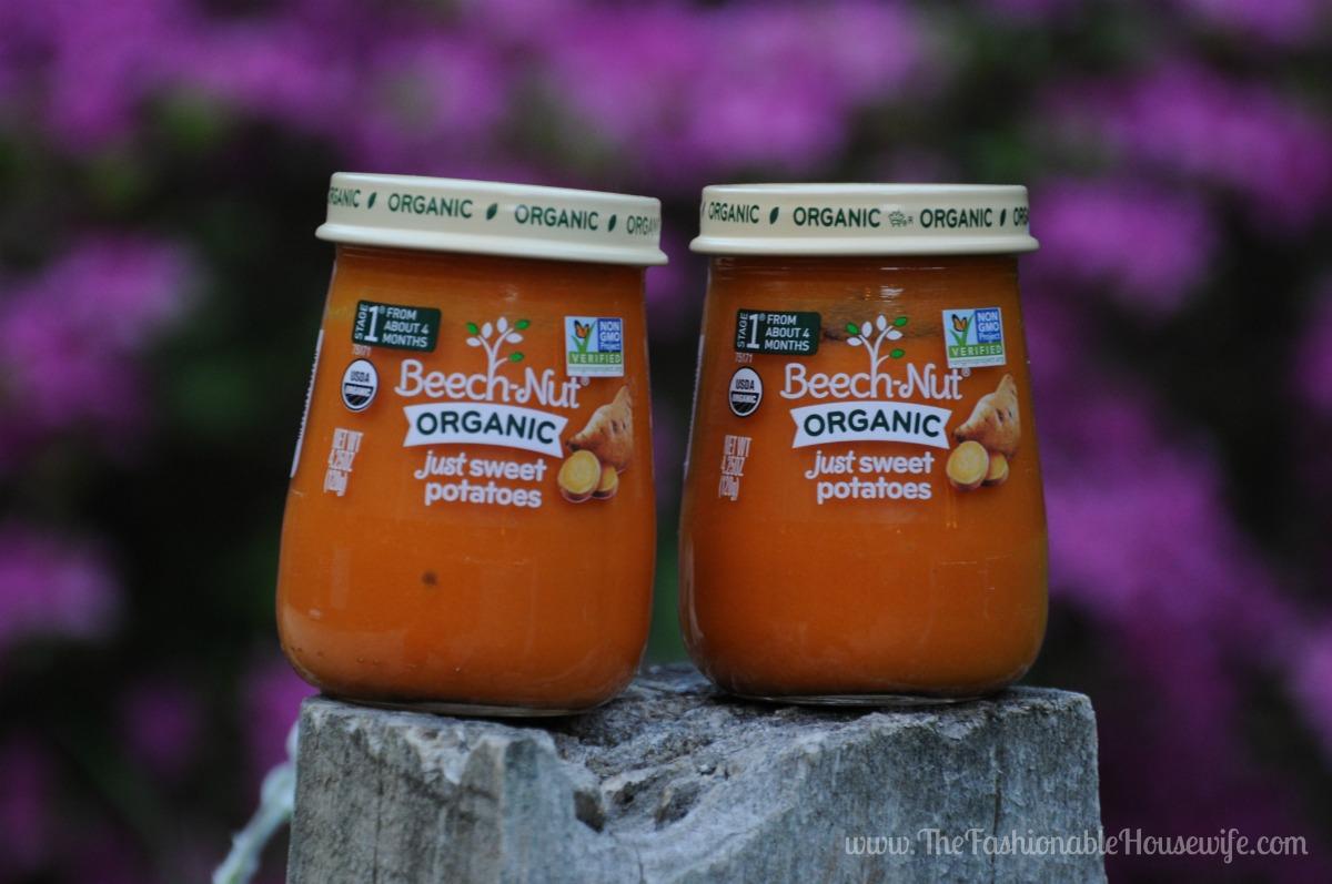 beechnut organic sweet potatoes