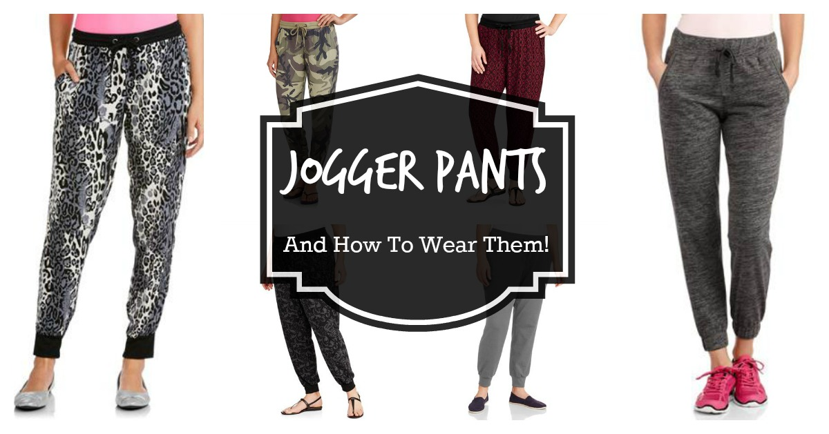 family photo clothes idea - Trend Alert Jogger Pants Tips on How To Wear Them