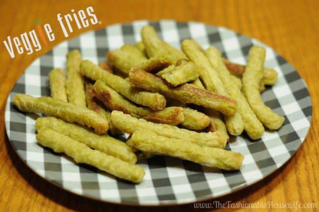 Veggies Fries – The Easy To Make, Family Friendly Side Dish #VeggieFries #IC #AD