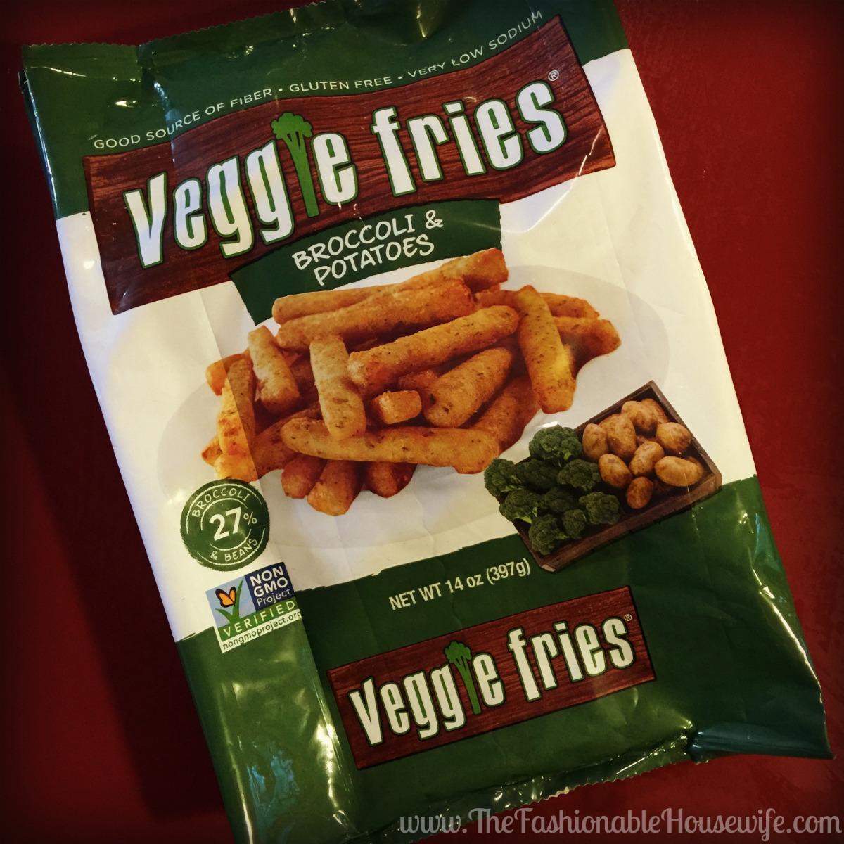 veggie fries broccoli potato in bag