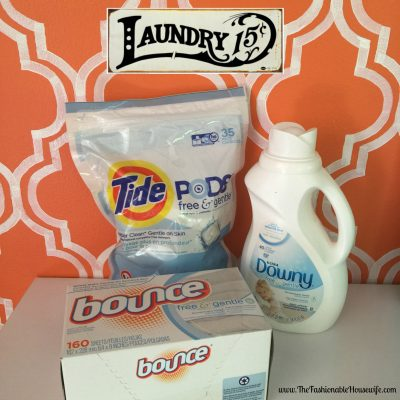 P&G Free & Gentle Laundry Products For Sensitive Skin #SecondSkincare #IC #AD