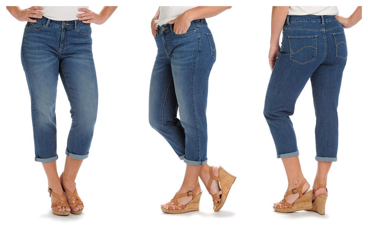 Lee Jeans Curvy Fit Lola Capris