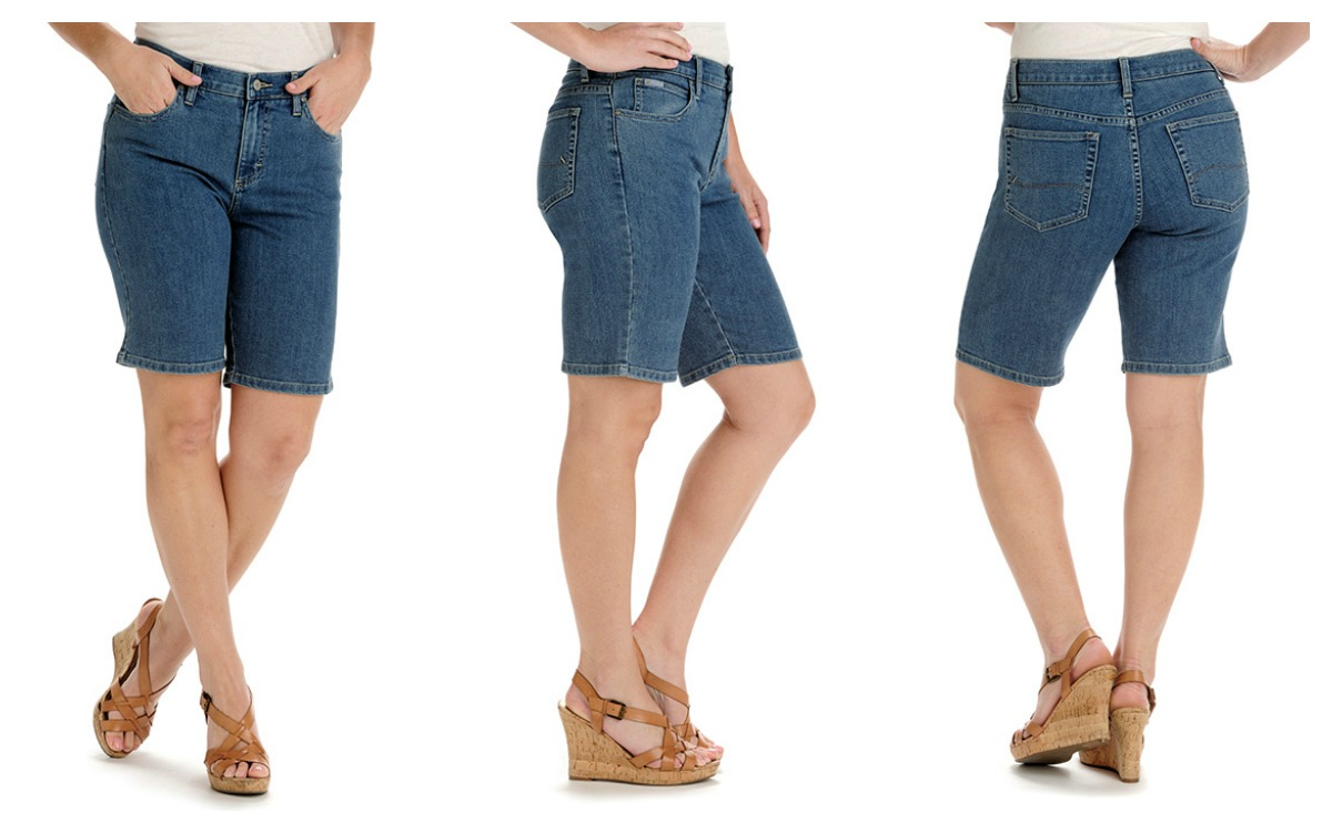 ee07d220e9 Lee jeans relaxed fit bermuda shorts - The Fashionable Housewife
