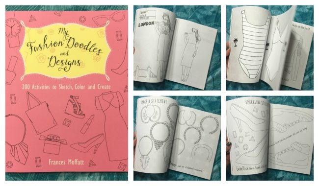 Fashion Doodles and Designs Activity & Coloring Book