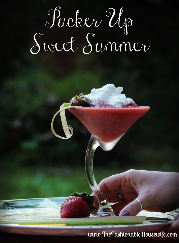 pucker up sweet summer cocktail 1