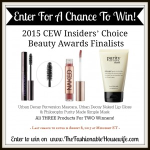 Enter To Win Urban Decay and Philosophy Beauty Products
