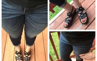 Wearing: BareTraps Darma Wedge Sandals
