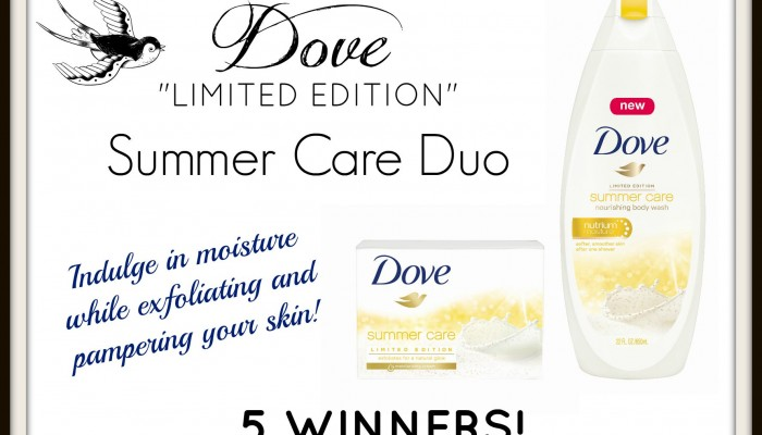 Enter To Win the DOVE Summer Care Soap & Body Wash Duo! 5 Winners!!!