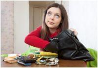 woman in purse