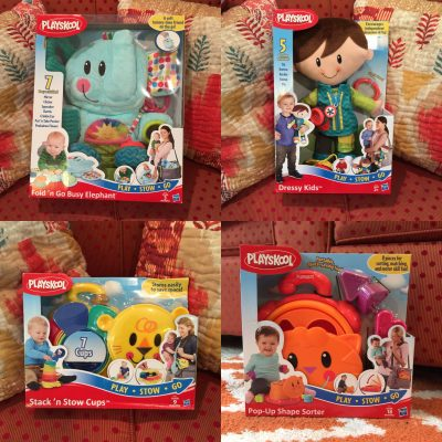Playskool Space Saving Toys Offer On-The-Go Fun! #PlaySkoolOntheGo #IC #AD