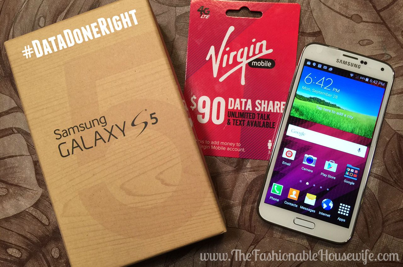 Samsung Galaxy S5 Virgin Mobile