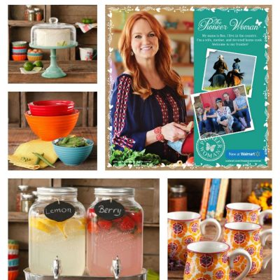 The Pioneer Woman Collection Now Available at Walmart!