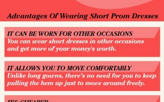 "Trend Alert: Why Short Prom Dresses Are ""In"""