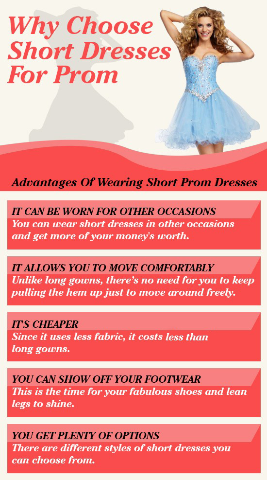 Why Choose Short Dresses For Prom Night