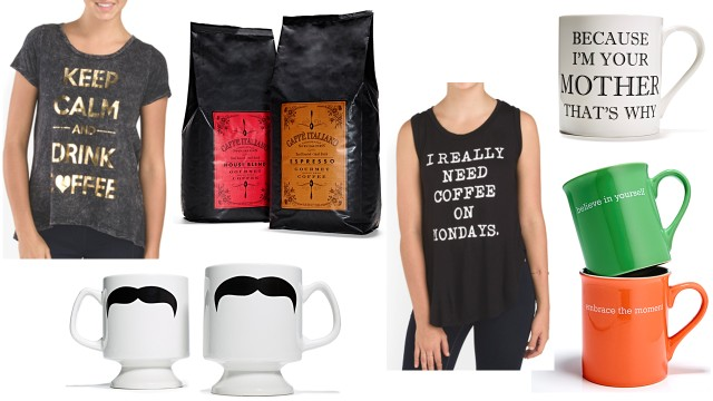 coffee goods at tj maxx and marshalls