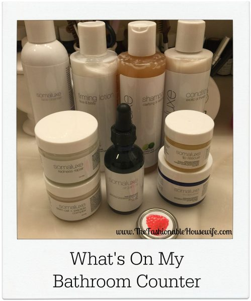 What's On My Bathroom Counter? Somaluxe Skin Care Products!