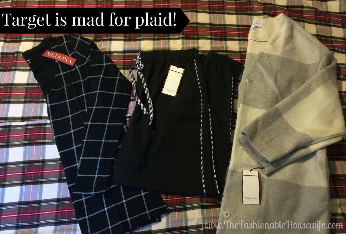 Target is mad for plaid
