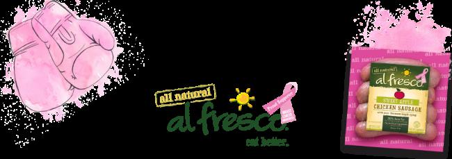 breast cancer al fresco #fightbackbetter