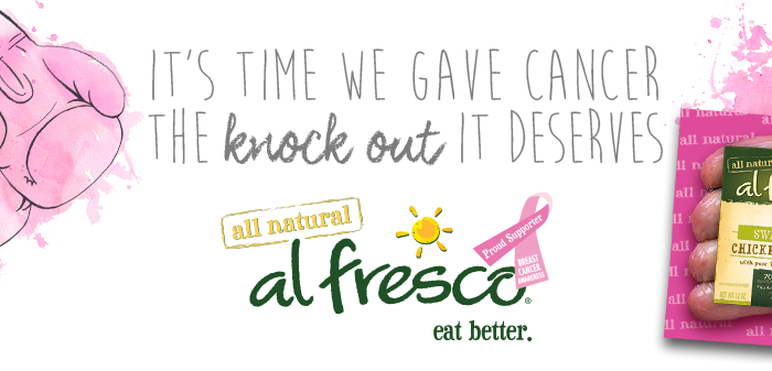 Al Fresco Wants You To #FIGHTBACKBETTER Against Breast Cancer