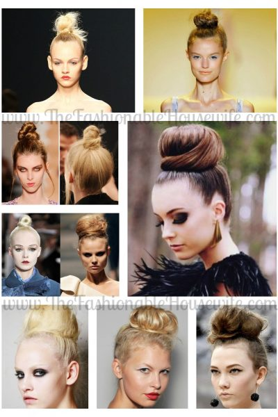 effortless top knot