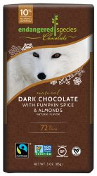 Dark Chocolate with Pumpkin Spice & Almonds